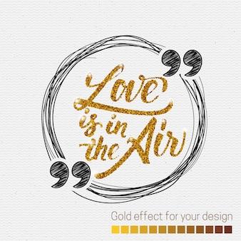 Er is liefde in de lucht