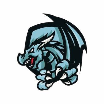 Eragon - vector logo / pictogram illustratie mascotte