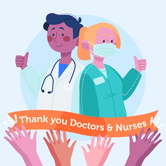 Erkenning van artsen en verpleegkundigen