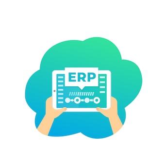 Erp, enterprise resource planning-software