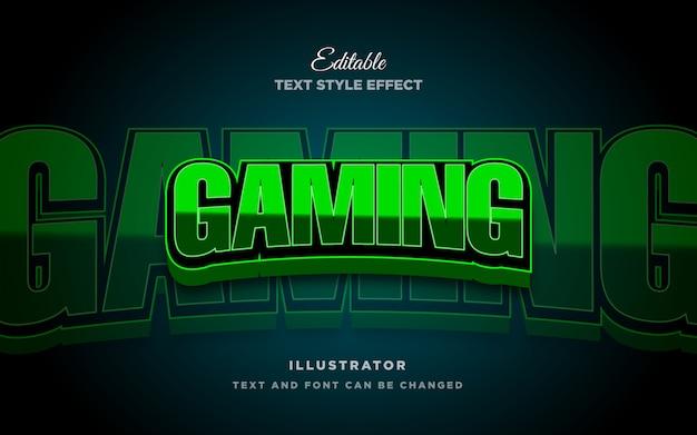 Esport 3d tekststijleffect