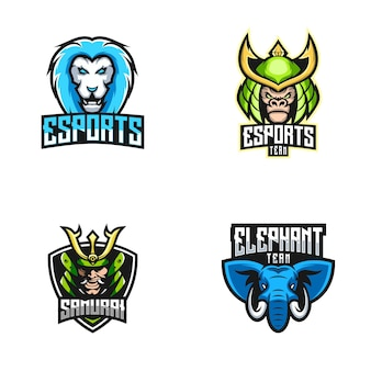 Esport logo collectie