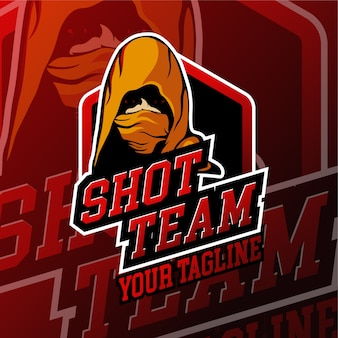 Esport shot gaming-logo-badges