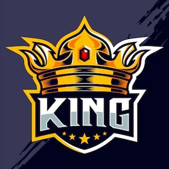 Esport team logo ontwerp