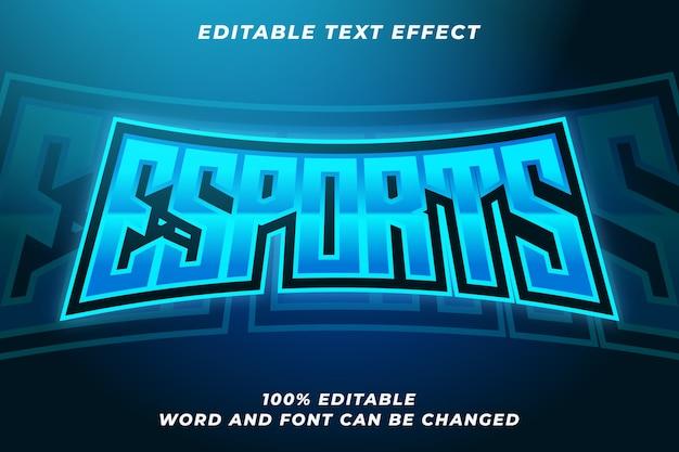 Esport tekststijleffect