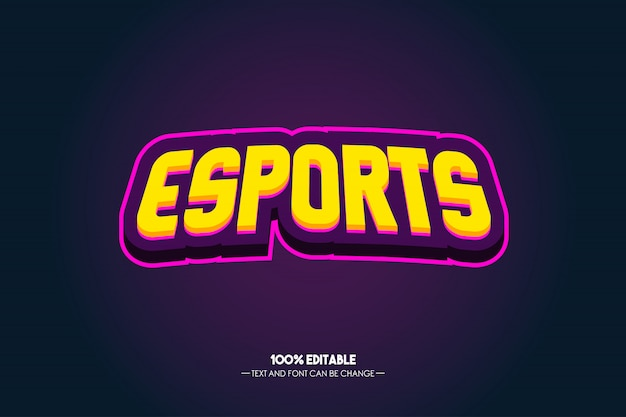Esports tekststijl