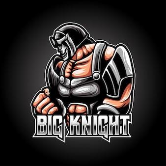Espot logo ridder karakter pictogram