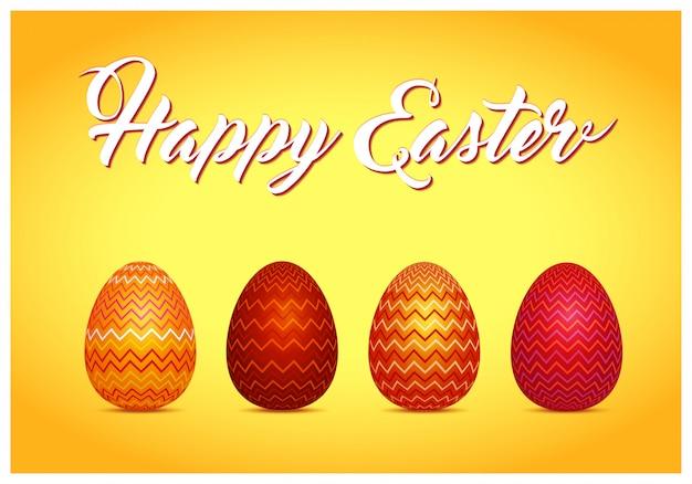 Ester. achtergrond met eieren
