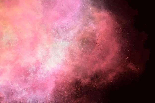 Esthetische melkwegelement vector op zwarte achtergrond