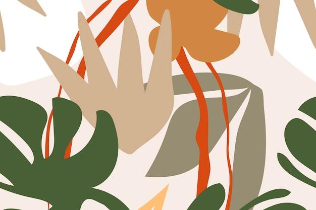 Esthetische naadloze patroon achtergrond ontwerp vector