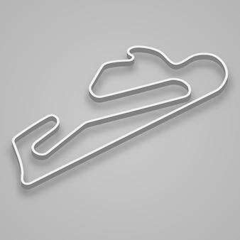 Estoril circuit voor motorsport en autosport. circuit van de grand prix van portugal.