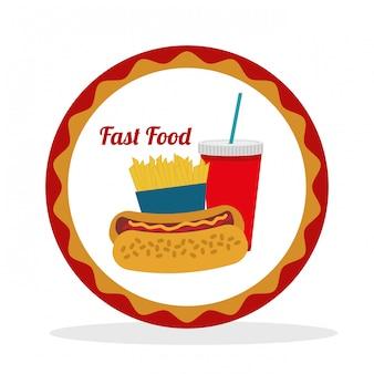 Eten en menu iconen ontwerp