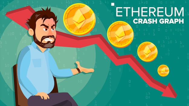 Ethereum crash-grafiek