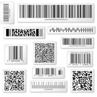 Etiketten van verpakkingen