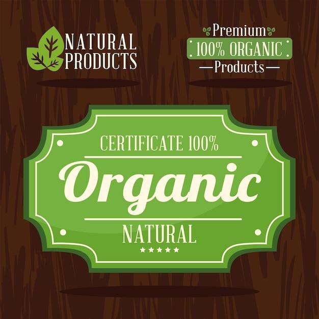 Etiketten voor biologische producten