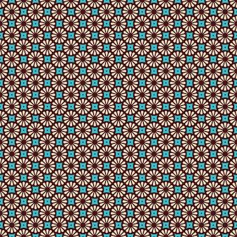 Etnisch motief naadloos patroon