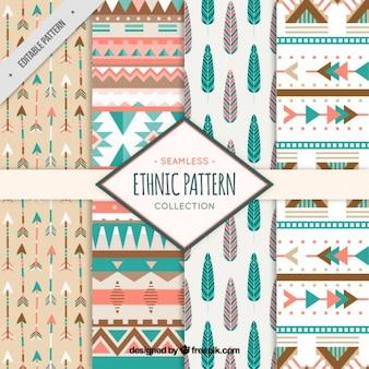 Etnisch patroon collectie