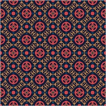 Etnisch patroonontwerp minimalistische stijl