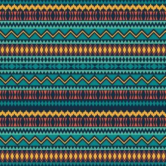 Etnische naadloze patronen