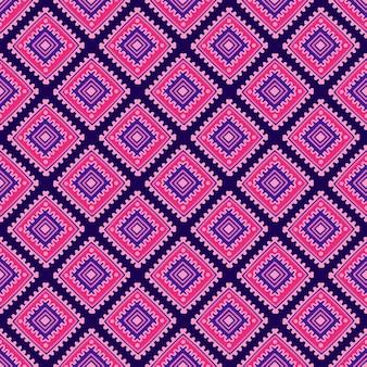 Etnische naadloze patroon. stamlijnafdrukken in afrikaanse, mexicaanse, indische stijl