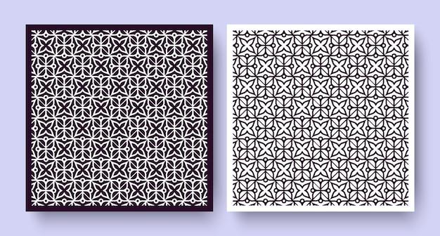 Etnische stijl bloemen naadloos patroon