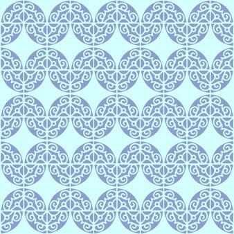 Etnische stijl ornament naadloos patroon