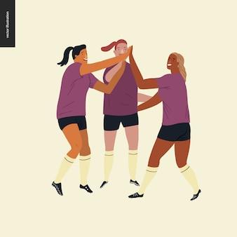 Europees voetbal voor dames, voetbalspelers