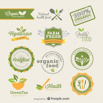 Europese mooie labels vector