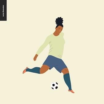 Europese voetbal, voetbalspeler