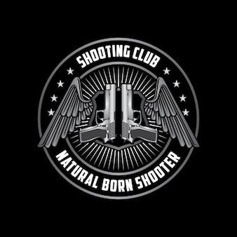 Evenement t-shirt club sjabloon