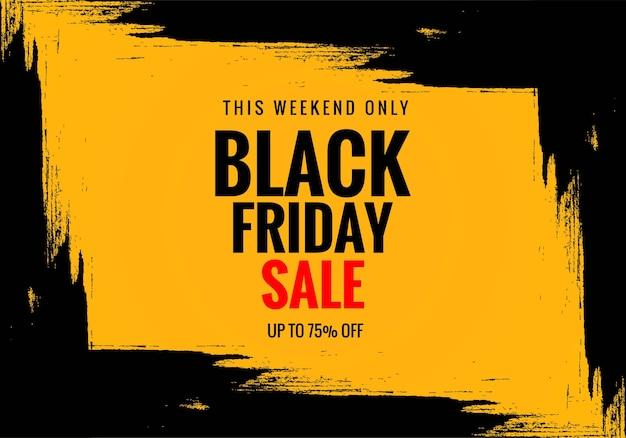Exclusieve black friday-verkoopposter