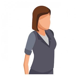 Exectuive zakenvrouw avatar
