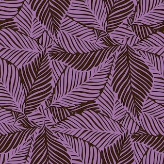 Exotische plant ummer natuur jungle print