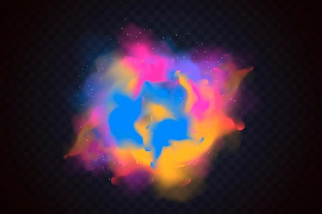 Explosie holifestival