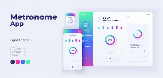 Express levering app cartoon smartphone interface sjablonen set