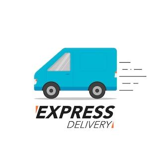 Express levering pictogram concept