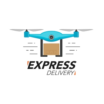 Express levering pictogram concept