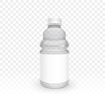 Exquise plastic fles