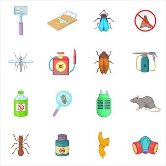 Exterminator pictogrammen instellen
