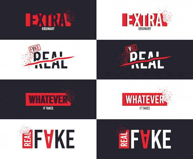 Extra slogan voor het ontwerpen van t-shirts.