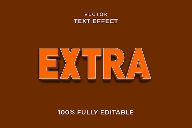 Extra teksteffect