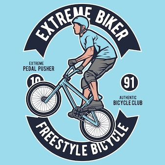Extreme fiets