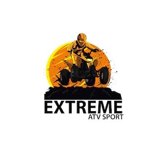 Extreme sport atv