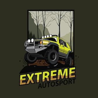 Extreme sport avontuur