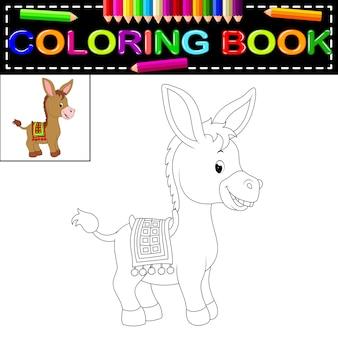 Ezel kleurboek