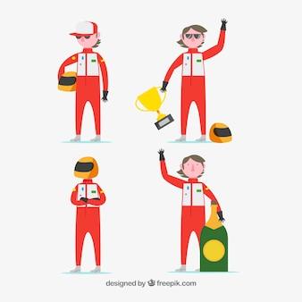 F1 racetekens