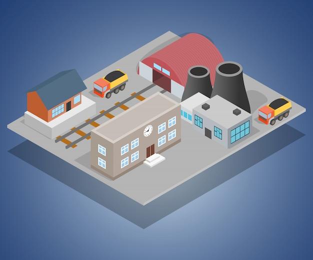 Fabriek concept