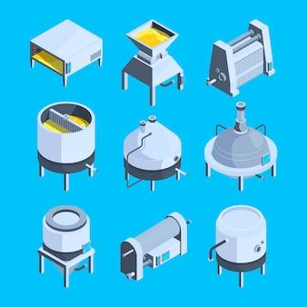 Fabriek voor de productie van bier