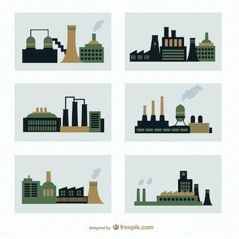 Fabrieken vector pack