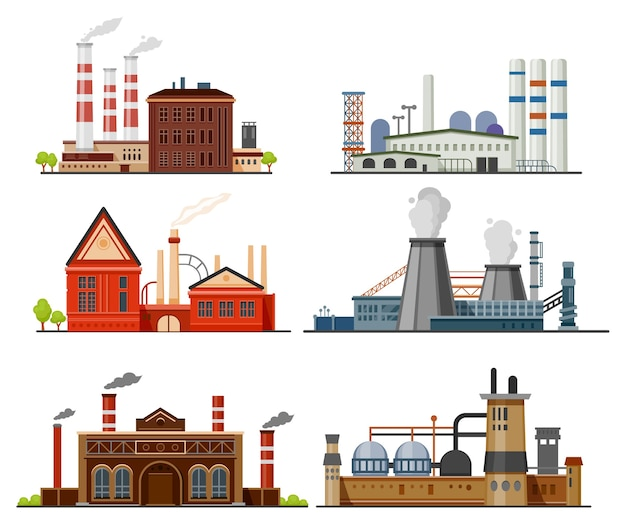 Fabrieks-, fabricage- en industriële gebouwen